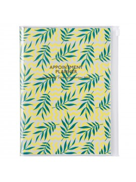 2019 Diary A5 Vertical Leaf - Wild Pattern