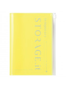 2019 Diary B6 Vertical Neon Yellow - STORAGE.IT
