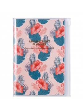 Agenda 2019 B6 Vertical Flower - Wild Pattern