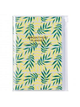 2019 Diary B6 Vertical Leaf - Wild Pattern