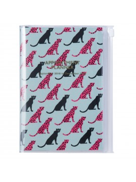 2019 Diary B6 Vertical Cheetah - Wild Pattern