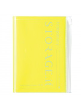 22019 Diary A6 Vertical Neon Yellow -  STORAGE.IT