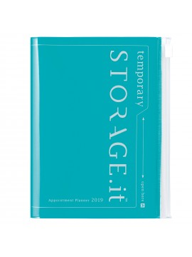Agenda 2019 A6 Vertical Turquoise - STORAGE.IT