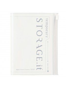 2019 Diary A6 Vertical White - STORAGE.IT