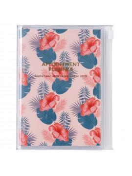 Agenda 2019 A6 Vertical Flower - Wild Pattern