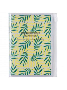Agenda 2019 A6 Vertical Leaf - Wild Pattern