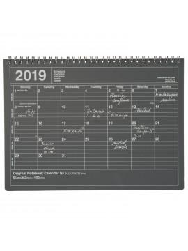 Calendrier 2019 M Noir - Mark's