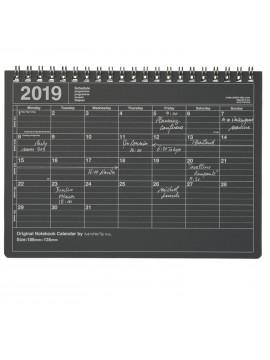 Calendrier 2019 S Noir - Mark's