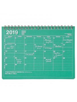 2019 Notebook Calendar S Green - Mark's