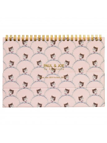 2019 Notebook Calendar NEKO Pink - PAUL & JOE