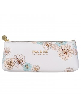 Pen Case Chrysanthemum White S - PAUL & JOE