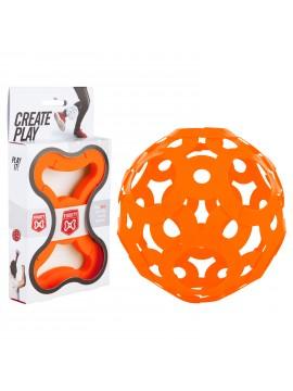 Ballon FOOOTY Orange - Jeu de Construction