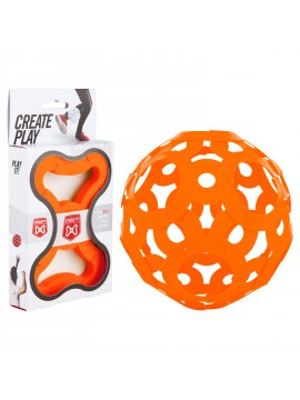 FOOOTY the Ball Orange - Construction Game