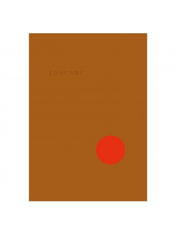 Hardcover Notebook Dot Journal Ochre - Kartotek