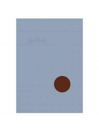 Hardcover Notebook Dot Journal Light Blue - Kartotek