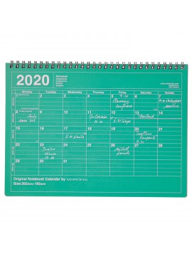 2020 Monthly Calendar M Green - Mark's