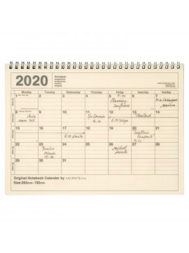 2020 Monthly Calendar M Ivory - Mark's