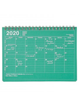 2020 Monthly Calendar S Green - Mark's