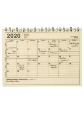2020 Monthly Calendar S Ivory - Mark's