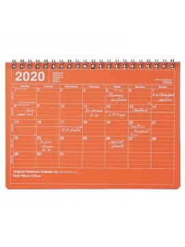 2020 Monthly Calendar S Orange - Mark's