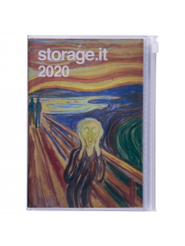 Diary 2020 Weekly Left Type  Munch B - Storage.it
