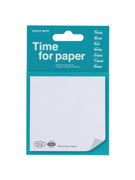 Sticky Notes Turquoise - Time for paper