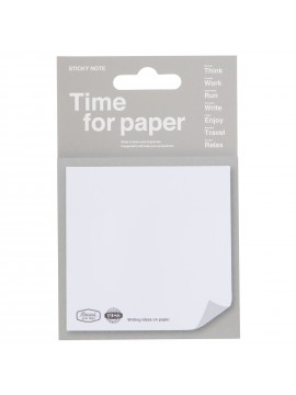 Sticky Notes Gray - Time for paper