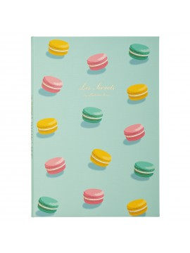 Notebook B6 Macaron Mint - Les Secrets by Ladurée