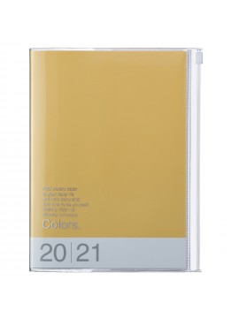 Diary 2021 Weekly Diary large-sized scheduler A5 Vertical Type Time Base 16H Yellow - Colors