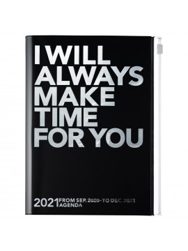 Diary 2021 Weekly Diary large-sized scheduler A5 Vertical Type Time Base 16H Silver - Make time