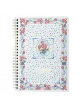 Spiral Notebook A5 Scarf Motif - PAUL & JOE La Papeterie