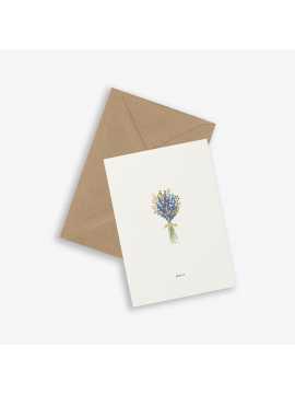 Greeting Card Bouquet - Kartotek Copenhagen