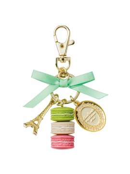 Key holder Macaron Leonore - Les Secrets by Ladurée