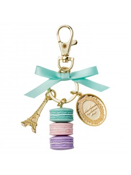 Key holder Macaron Marguerites - Les Secrets by Ladurée