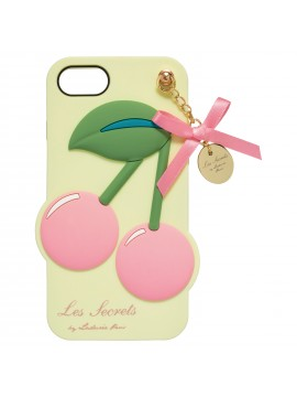 Backcover iPhone Cerise Rose - Les Secrets de Ladurée