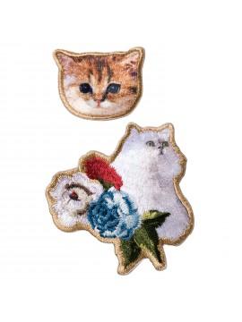 Embroidery Sticker Gipsy & Nounette - PAUL & JOE La Papeterie