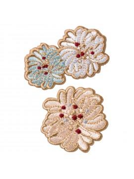 Embroidery Sticker Chrysanthemum - PAUL & JOE La Papeterie