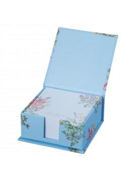 Memo Pad Bouquet de Fleurs Bleu Clair - Ladurée La Papeterie