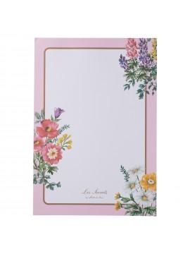 Memo Pad Bouquet de Fleurs Rose - Les Secrets by Ladurée