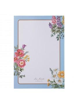 Memo Pad, LADUREE // Bouquet de Fleurs Bleu
