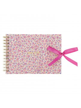 Landscape Notebook A6 Fleurette - PAUL & JOE La Papeterie