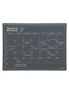 2022 Monthly Desktop Calendar Size M Black - Mark's