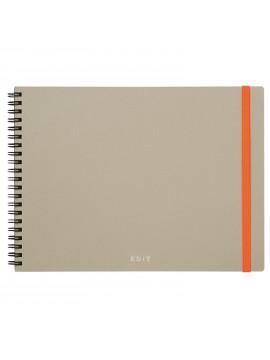 Landscape Notebook + Sticky Notes Set Gray - Ideation EDiT