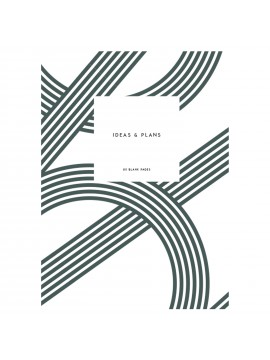 Notebook Small Softcover A5  Lines Dark Green - Kartotek