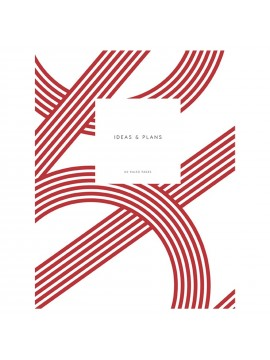 Notebook Small Softcover A5  Lines Red - Kartotek