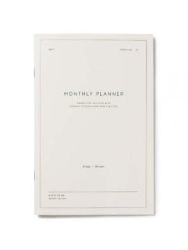 Softcover Notebook Monthly planner - Kartotek