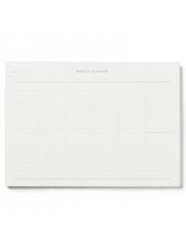 Notepad  Weekly Planner Rose - Kartotek