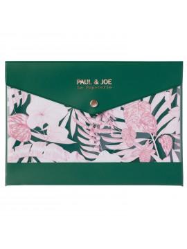 Stationery case transparent Tropical Jungle A5 - PAUL & JOE La Papeterie