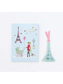 Notebook A6 La parisienne - Les Secrets by Ladurée