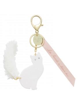 Key Holder Lovely Cat White -  Les Secrets by Ladurée Paris